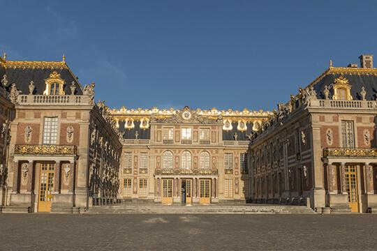 Palácio de Versalhes, um dos mais antigos patrimônios mundiais reconhecidos pela Unesco