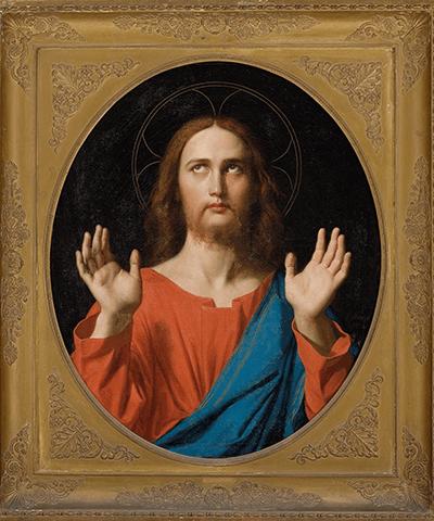 Cristo abençoador, Jean-Dominique Ingres