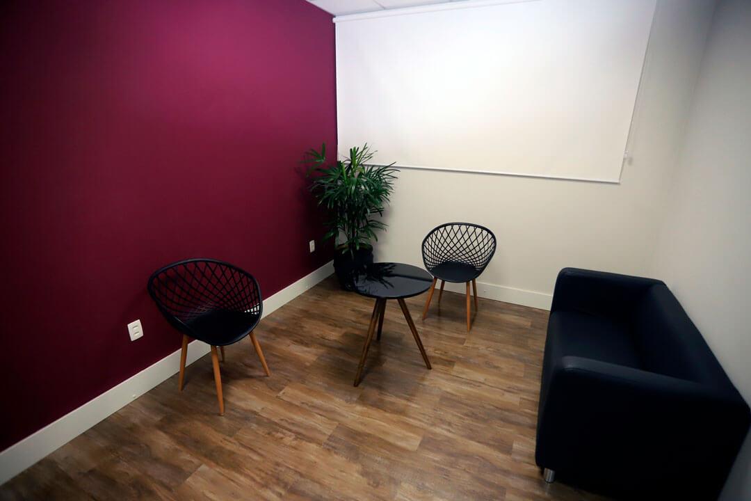 A nova unidade também conta com diversos espaços de convivência para nossos alunos