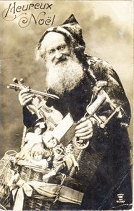 Père Janvier, figura natalina da Borgonha