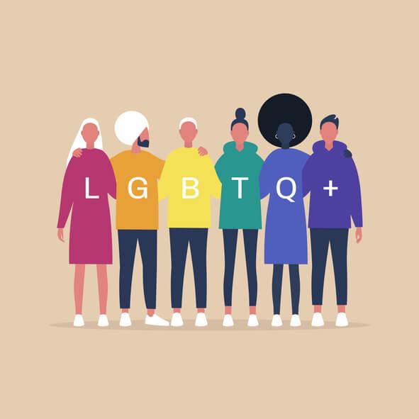 LGBT expressions fierté